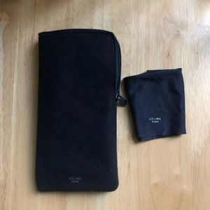 Celine Soft Eyeglass Case